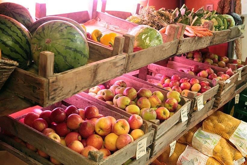 Gärtnerei Obst Gemüse