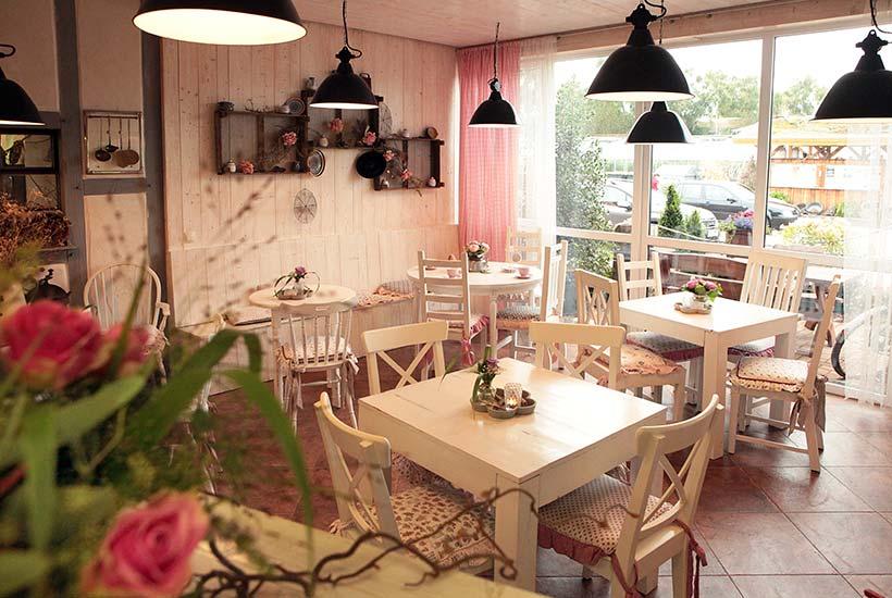 Gartencafé - Gastraum