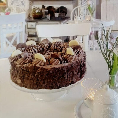 Kuchen Im Gartencafé
